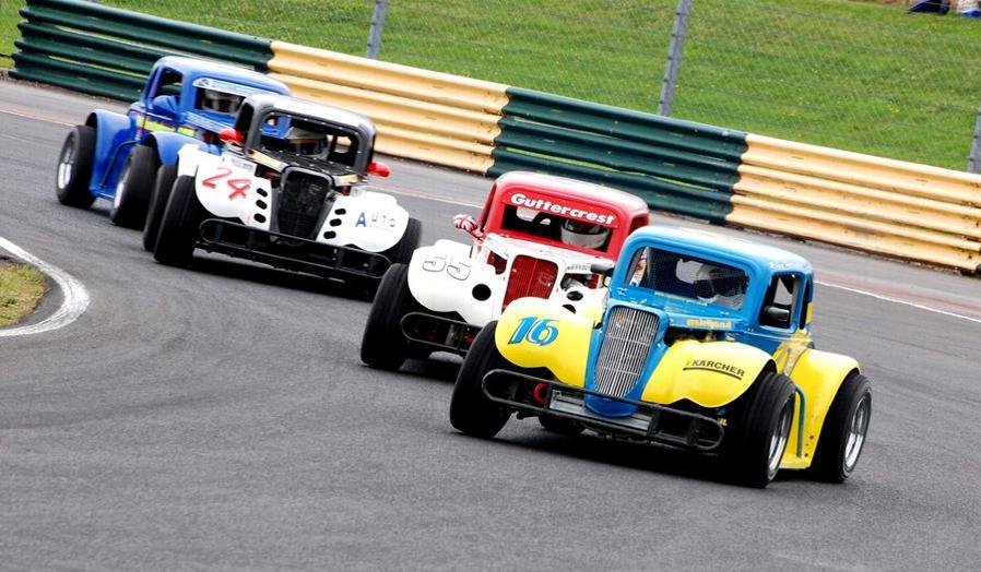 Legends car racing legends racing